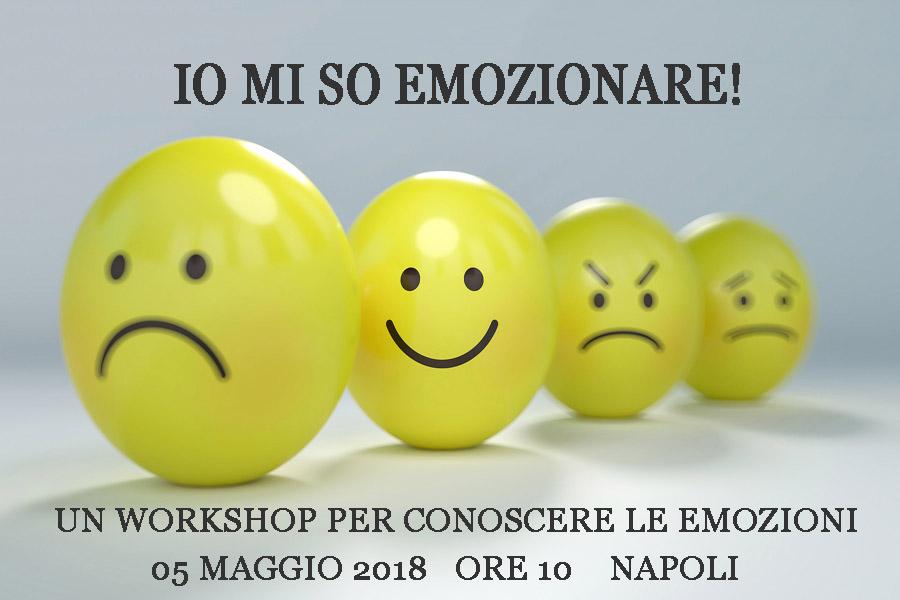 Io mi so emozionare! Un workshop per conoscere le emozioni!